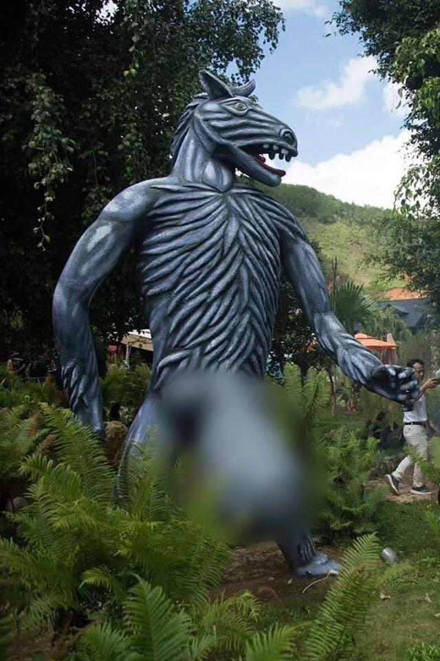 Khu du lịch ma quỷ gần Đà Lạt bị ném đá, Lan Phương bày tỏ cần dán mác 18+ - 4
