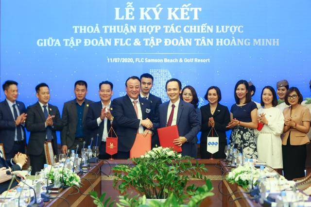Tập đoàn FLC và Tân Hoàng Minh ký kết hợp tác chiến lược - 1