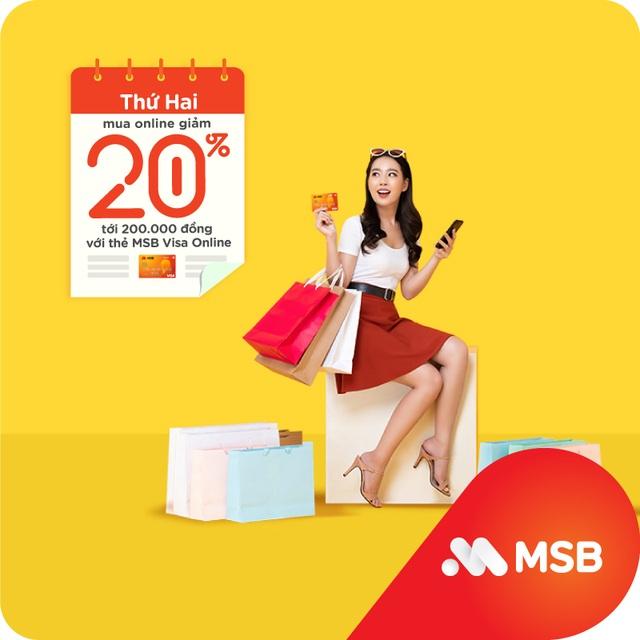Cùng MSB chi tiêu thông minh và siêu tiết kiệm với 'Hôm nay thứ mấy, hoàn tiền ngần ấy' - 2