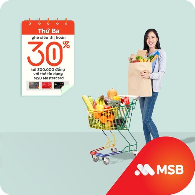 Cùng MSB chi tiêu thông minh và siêu tiết kiệm với 'Hôm nay thứ mấy, hoàn tiền ngần ấy' - 3