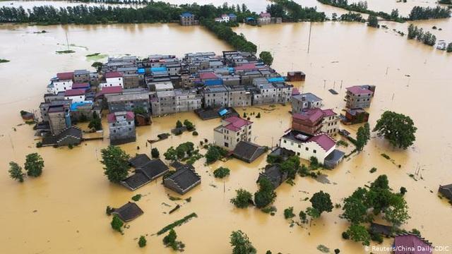 Nước 33 sông Trung Quốc dâng kỷ lục, Giang Tây ban bố biện pháp thời chiến - 1