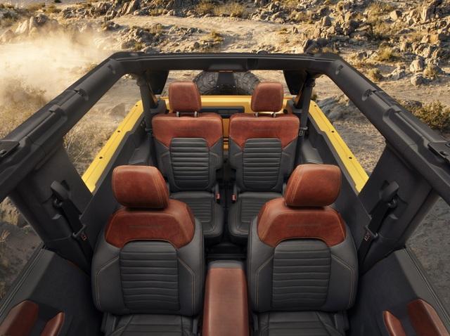 Ford Bronco ra mắt, cạnh tranh sát ván Jeep Wrangler - 28