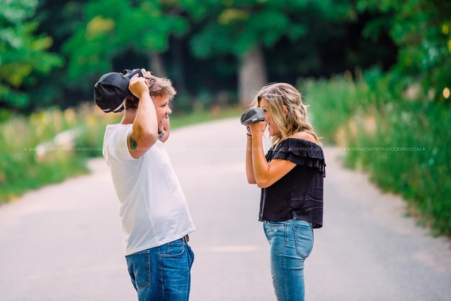 Bộ ảnh gây sốt ghi lại cuộc hẹn hò chụp ảnh của hai người xa lạ - 4