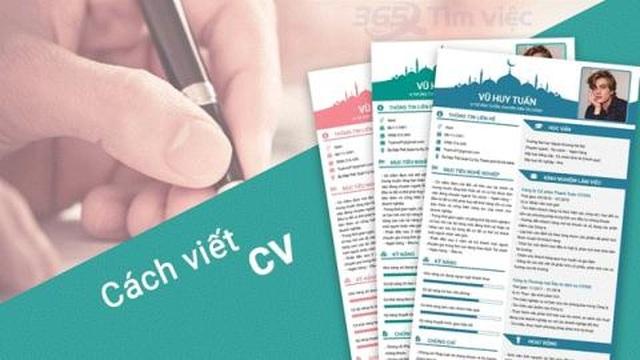 6 đặc điểm chung của các CV xin việc ấn tượng - 1