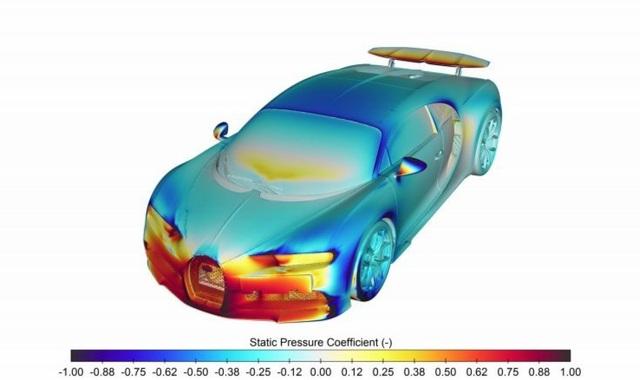 Điều hoà của siêu xe Bugatti Chiron có thể làm mát cả một căn hộ - 3