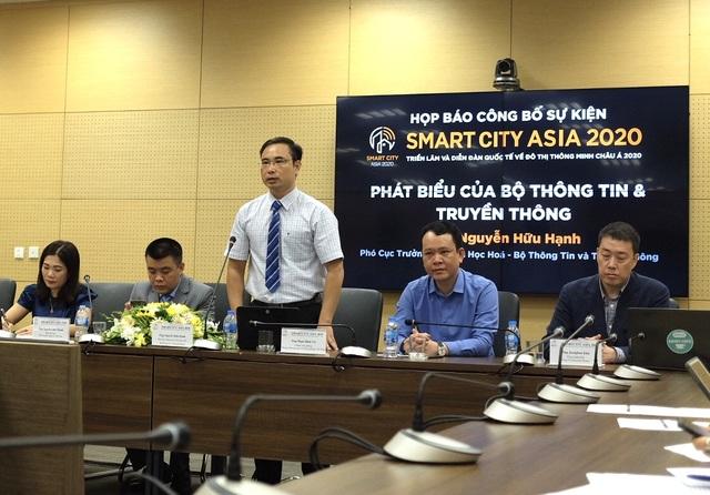 Việt Nam tổ chức triển lãm quốc tế đô thị thông minh Smartcity Asia 2020 - 2
