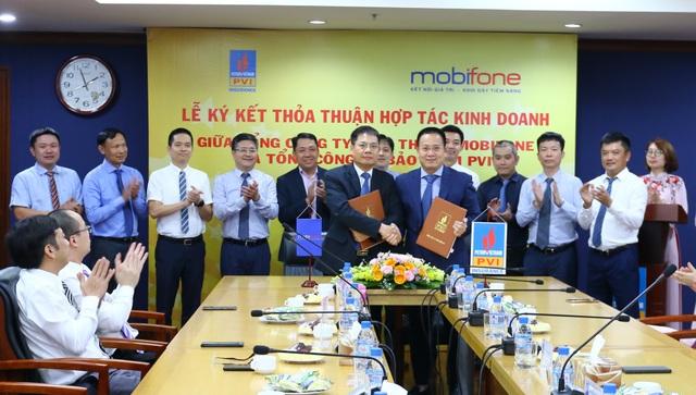 PVI ký kết Thỏa thuận hợp tác kinh doanh với MobiFone - 1