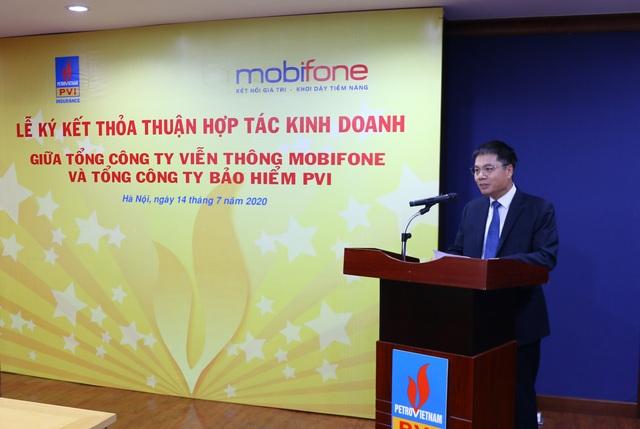 PVI ký kết Thỏa thuận hợp tác kinh doanh với MobiFone - 2