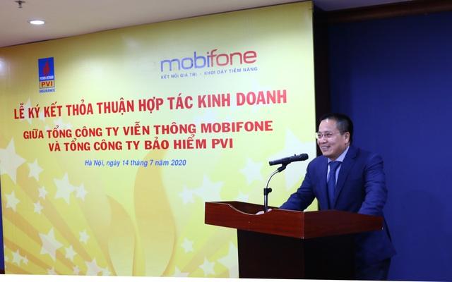 PVI ký kết Thỏa thuận hợp tác kinh doanh với MobiFone - 3