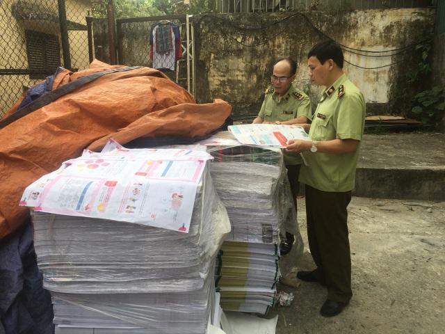 Hà Nội: Cận cảnh xưởng in sách có dấu hiệu in lậu vừa bị phát giác - 2