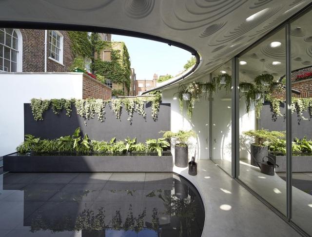 Độc đáo căn biệt thự đổ đất trồng cây xanh trên mái nhà để tránh nóng - 3