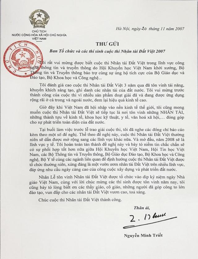 Giải thưởng Nhân tài Đất Việt: Tôn vinh tri thức thời đại và trí tuệ Việt - 4