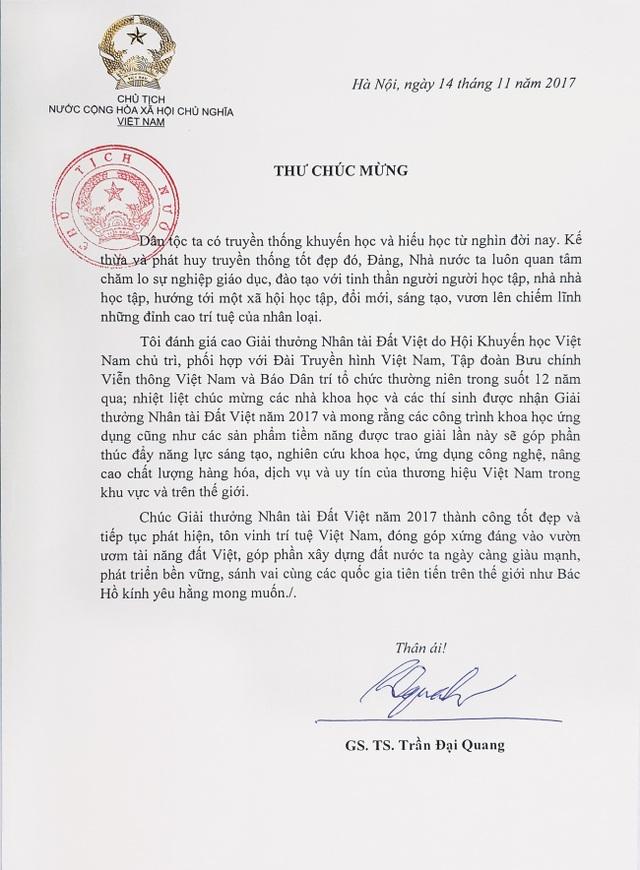 Giải thưởng Nhân tài Đất Việt: Tôn vinh tri thức thời đại và trí tuệ Việt - 6