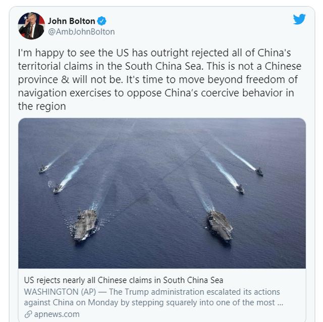 Cựu cố vấn an ninh Mỹ: Biển Đông không phải một tỉnh của Trung Quốc - 2