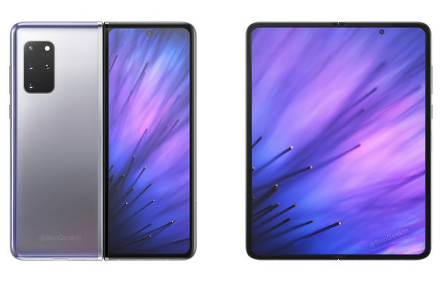 Lộ ảnh và cấu hình chi tiết smartphone màn hình gập Galaxy Fold 2 - 1