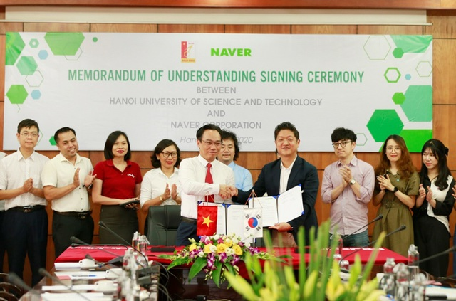 Tập đoànNAVER hợp tác với ĐH Bách Khoa Hà Nội triển khai đào tạo trí tuệ nhân tạo - AI - 3