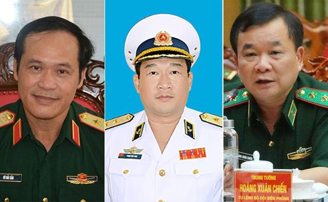 Thủ tướng bổ nhiệm 3 Thứ trưởng Bộ Quốc phòng - 1