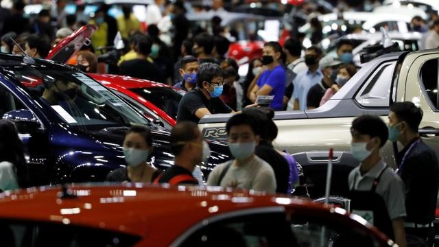 Thái Lan khai mạc triển lãm ô tô đầu tiên trong mùa dịch Covid-19 - 9