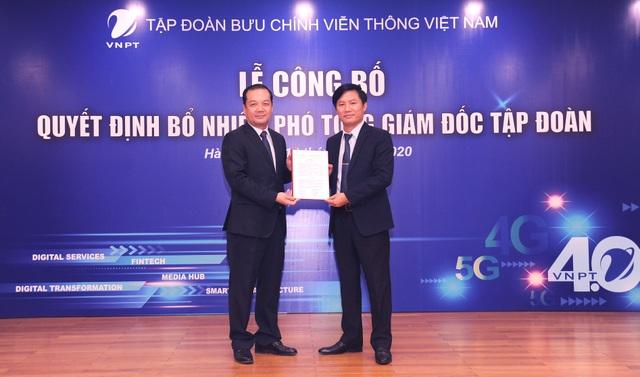 Tập đoàn VNPT bổ nhiệm 2 Phó Tổng Giám đốc mới - 2