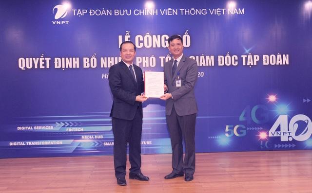 Tập đoàn VNPT bổ nhiệm 2 Phó Tổng Giám đốc mới - 1