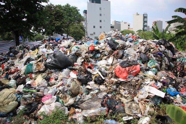 Bãi Nam Sơn bị phong tỏa, rác trong nội đô chất như núi - 6
