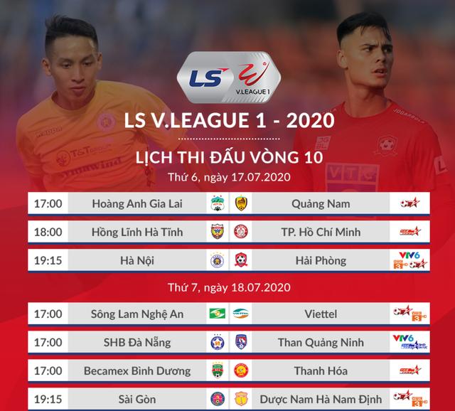 Vòng 10 V-League 2020: Những cặp đấu không khoan nhượng - 1