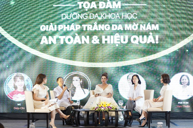Hội thảo trắng da, mờ thâm nám - giải pháp làm đẹp cho phụ nữ Việt - 2