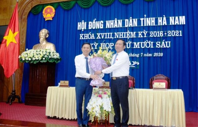 Chánh Văn phòng UBND tỉnh Hà Nam được bầu giữ chức Phó Chủ tịch tỉnh - 1
