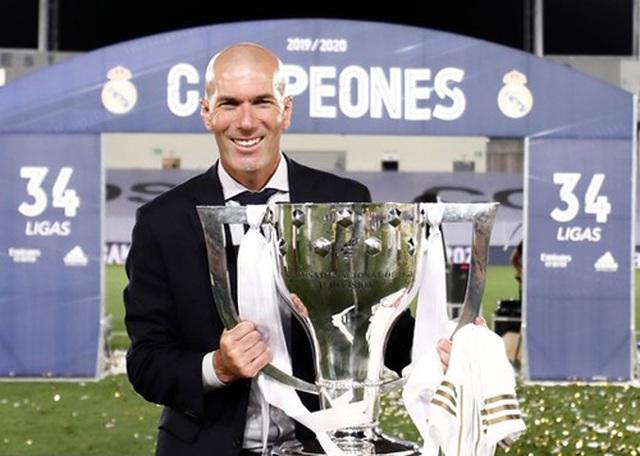 """Zidane """"chạm tay ra vàng"""": 19 trận lại có 1 danh hiệu - 1"""