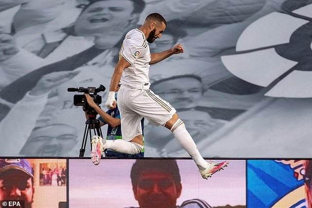 Benzema lập cú đúp, Real Madrid vô địch La Liga lần thứ 34 - 2