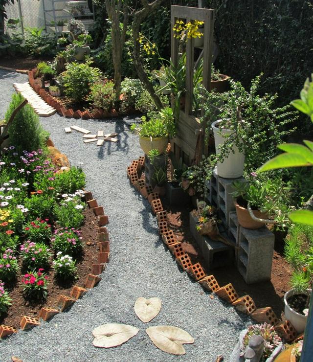 Vợ chồng trẻ rủ nhau bỏ phố về quê, làm vườn đẹp mê chỉ hết 1 triệu đồng - 4