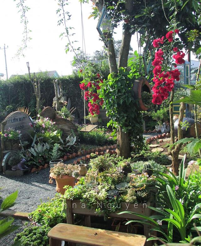 Vợ chồng trẻ rủ nhau bỏ phố về quê, làm vườn đẹp mê chỉ hết 1 triệu đồng - 10