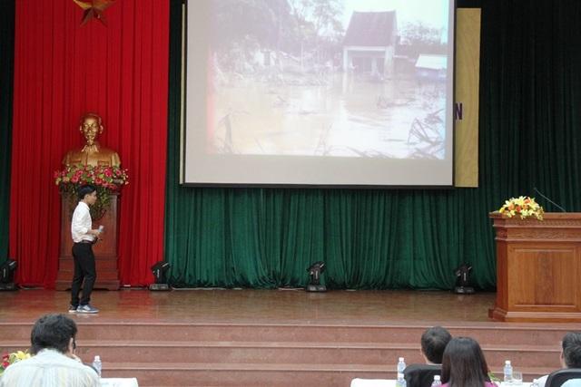 Trường ĐH Quy Nhơn trao giấy khen đến sinh viên nghiên cứu khoa học - 1