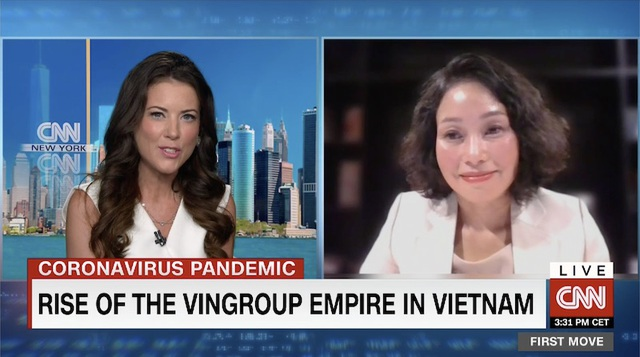 11 phút trực tiếp trong chương trình kinh tế hàng đầu trên CNN, Vingroup đã gây ấn tượng gì với thế giới? - 1