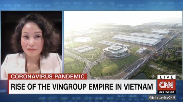 11 phút trực tiếp trong chương trình kinh tế hàng đầu trên CNN, Vingroup đã gây ấn tượng gì với thế giới? - 2