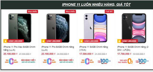 iPhone giảm giá tiền triệu tại một số cửa hàng - 3