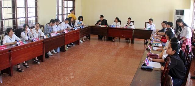 Gần 200 học sinh tham gia hội nghị mô phỏng Liên Hợp Quốc tại Phú Yên - 1