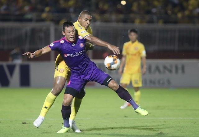 Thắng đậm Nam Định, Sài Gòn FC vững ngôi đầu V-League - 4