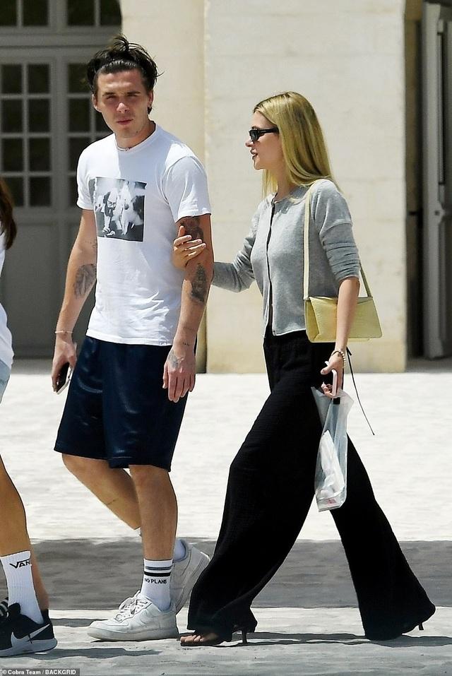 Gia đình Beckham đi nghỉ mát ở Italia - 9
