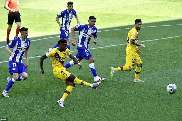 Messi lập cú đúp, Barcelona thắng tưng bừng ở vòng cuối La Liga - 6