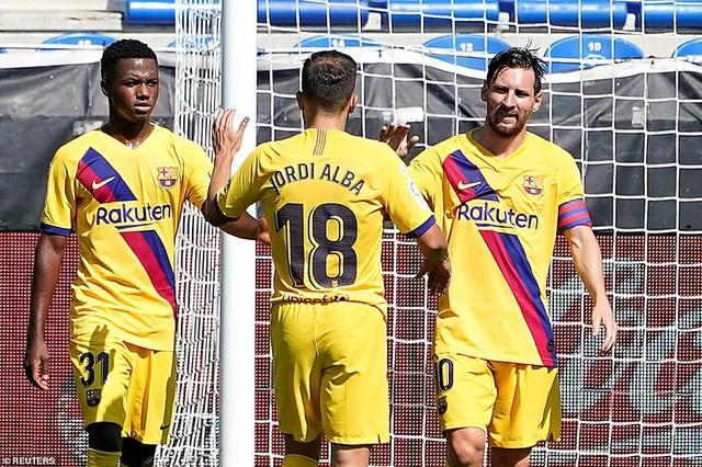 Messi lập cú đúp, Barcelona thắng tưng bừng ở vòng cuối La Liga - 2