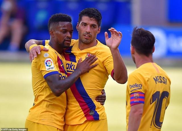 Messi lập cú đúp, Barcelona thắng tưng bừng ở vòng cuối La Liga - 5