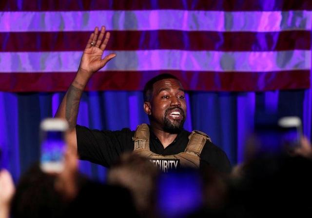 Ca sĩ Kanye West chính thức vận động tranh cử tổng thống Mỹ - 1