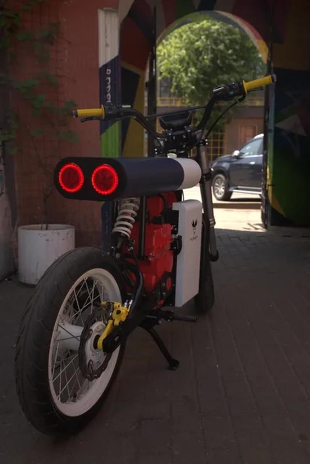 Xe máy điện Punch Moto - Đơn giản và khác lạ - 6
