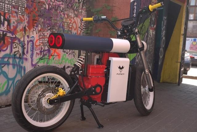 Xe máy điện Punch Moto - Đơn giản và khác lạ - 5