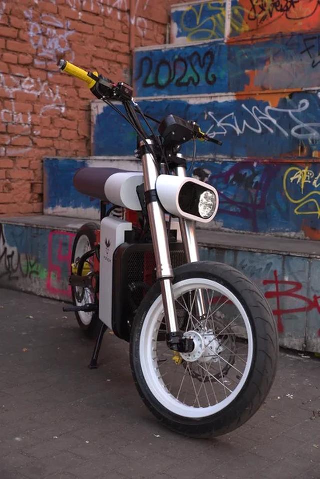 Xe máy điện Punch Moto - Đơn giản và khác lạ - 4