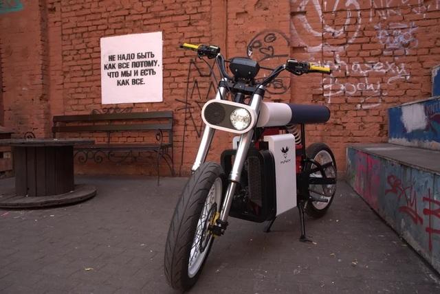 Xe máy điện Punch Moto - Đơn giản và khác lạ - 2