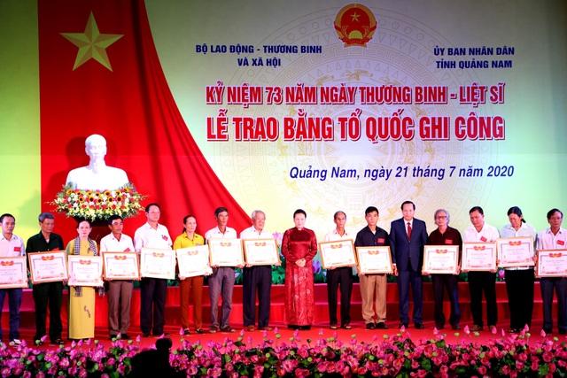 Truyền hình: Lễ trao 73 Bằng Tổ quốc ghi công tại Quảng Nam - 5