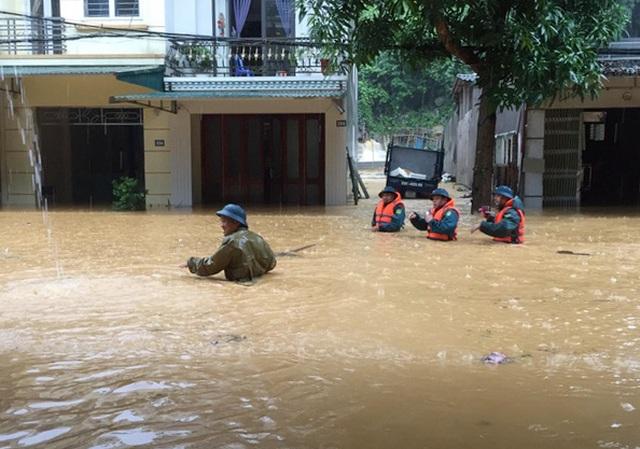 Vì sao TP Hà Giang mưa lũ, ngập lụt nặng nề? - 1