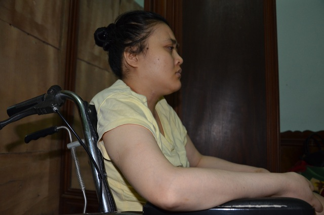 Thương cô gái trẻ nằm liệt 11 năm ước một lần về thủ đô khám bệnh - 3